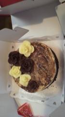 秋山あすな 公式ブログ/チョコケーキ 画像1