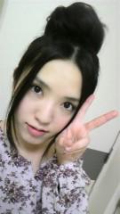 秋山あすな 公式ブログ/おだんごヘアー 画像2