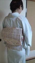 秋山あすな 公式ブログ/お着物できあがり 画像1