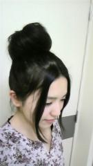 秋山あすな 公式ブログ/おだんごヘアー 画像1