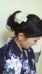 秋山あすな 公式ブログ/今年初浴衣★ 画像2