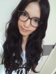 秋山あすな 公式ブログ/だて眼鏡♪ 画像1