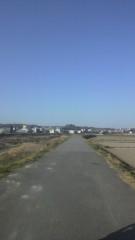 秋山あすな 公式ブログ/一本道 画像1