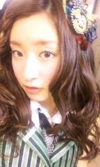 梅田彩佳 公式ブログ/電車は早いっ 画像1