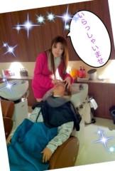 中森あきない 公式ブログ/★美容室でイタズラ…( ^∀^)★ 画像1