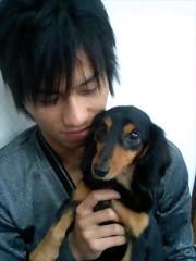 中津五貴 プライベート画像 犬なのにAPE(エイプ)って名前つけた。笑
