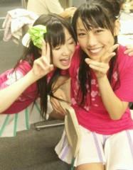 有安杏果(ももいろクローバー) 公式ブログ/5日目�青の日 画像3