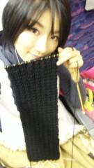 多田あさみ 公式ブログ/手編みマフラー 画像1