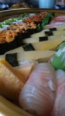 多田あさみ 公式ブログ/お寿司ヽ( ´ー`)ノ 画像1