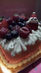 あおきさやか 公式ブログ/X'masケーキ? 画像1