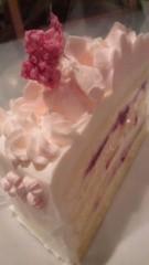 あおきさやか 公式ブログ/桜チョコケーキ。 画像1