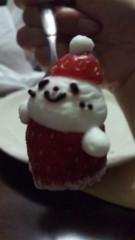 あおきさやか 公式ブログ/X'masケーキ? 画像2