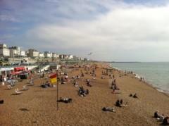 青山みなも 公式ブログ/イギリスの海ー‼ 画像1