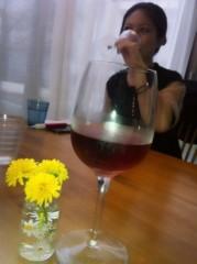 秋山莉奈 公式ブログ/お昼からワイン☆ 画像1