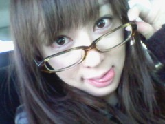 秋山莉奈 公式ブログ/めがねっ娘 画像2