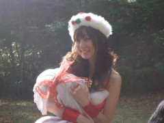 秋山莉奈 公式ブログ/Happy*Rina サンタ♪ 画像1