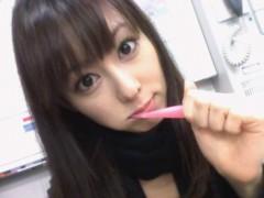秋山莉奈 公式ブログ/歯磨き中☆ 画像1