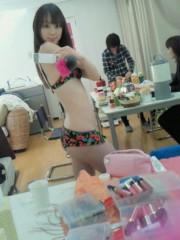 秋山莉奈 公式ブログ/おは水着☆彡 画像1