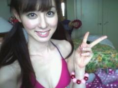 秋山莉奈 公式ブログ/おは水着(*/ ω\*) 画像1
