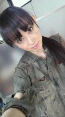 秋山莉奈 公式ブログ/顔汚い(-ω- ) 画像1
