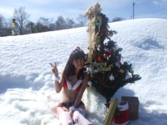 秋山莉奈 公式ブログ/Happy*Rina サンタ♪ 画像2