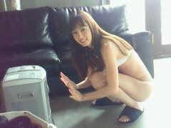 秋山莉奈 公式ブログ/水着でストーブ 画像1