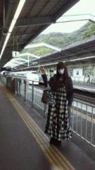 秋山莉奈 公式ブログ/新幹線 画像1