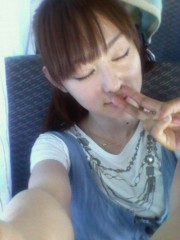 秋山莉奈 公式ブログ/鼻に指が。 画像1