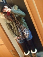 秋山莉奈 公式ブログ/私服〜☆彡 画像1