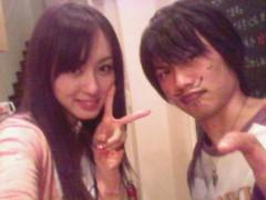 秋山莉奈 公式ブログ/副店長くんにイタズラ( 笑) 画像1