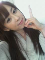 秋山莉奈 公式ブログ/バスローブ♪ 画像1