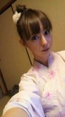 秋山莉奈 公式ブログ/浴衣でおやすみ。 画像1