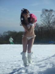 秋山莉奈 公式ブログ/ヤンマガオフショット〓 画像1