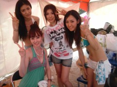 秋山莉奈 公式ブログ/水着美女♪ 画像1