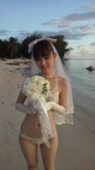 秋山莉奈 公式ブログ/ウエディング水着 画像1