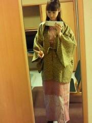 秋山莉奈 公式ブログ/おは浴衣 画像1