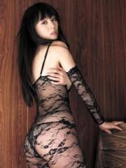 秋山莉奈 公式ブログ/全身網タイツのオシリーナ! 画像1