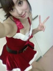 秋山莉奈 公式ブログ/超ミニスカサンタ☆彡 画像2