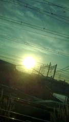 佐々木悠花 公式ブログ/朝焼け 画像1