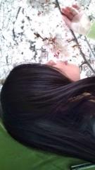 佐々木悠花 公式ブログ/桜と触れ合う佐々木 画像1