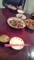 佐々木悠花 公式ブログ/事務所で食事 画像1