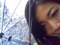 佐々木悠花 公式ブログ/傘の上に 画像1
