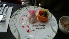 TOMOKA(ズキトモ) 公式ブログ/1ヶ月遅れのお祝い?! 画像1