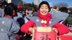 TOMOKA(ズキトモ) 公式ブログ/増上寺で豆まき!そんでナイスク学園!そんで大江戸温泉!! 画像2