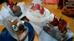TOMOKA(ズキトモ) 公式ブログ/昨日はケーキを太る時間帯に頂いた、、 画像1