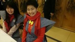 TOMOKA(ズキトモ) 公式ブログ/増上寺で豆まき!そんでナイスク学園!そんで大江戸温泉!! 画像1