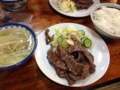 にゃんこ 公式ブログ/牛タン美味しいにゃ。 画像2