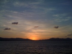 にゃんこ 公式ブログ/夕日の恵みにゃ 画像2