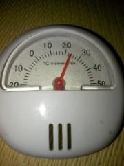にゃんこ 公式ブログ/超精密温度計(笑) 画像1