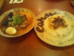にゃんこ 公式ブログ/夏にスープカレー 画像1